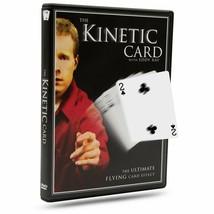 Kinetic Card Trick DVD aka the Floating Card Illusion (Boomerang Trick) - $10.19