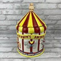 80's Promo Nabisco Barnum's Animals Carousel Cookie Jar Canister Circus ... - $86.75