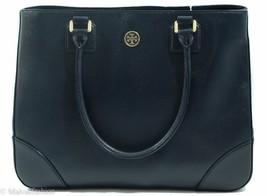 NWTTory Burch Robinson East/West Tote Handbag Bag, Blue image 2