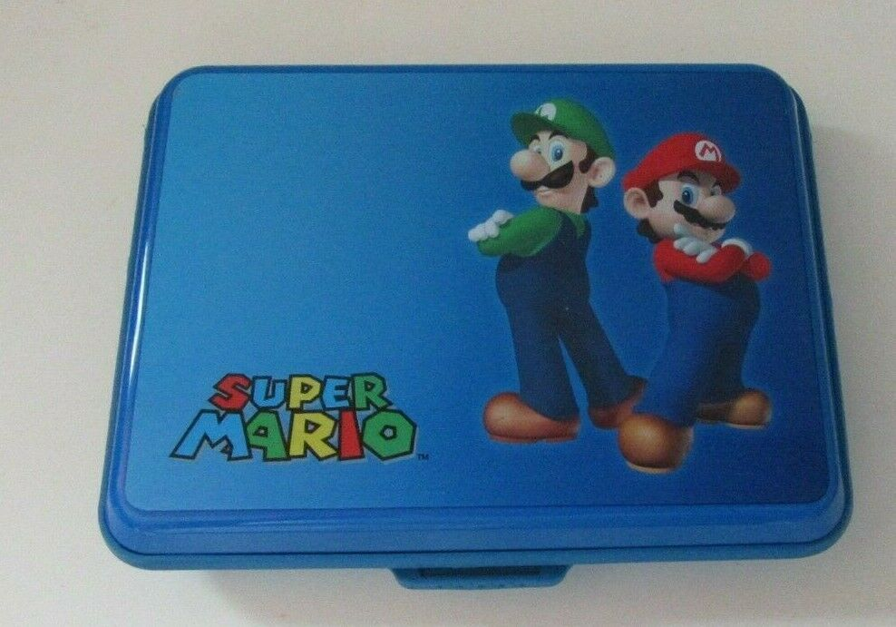 Primary image for Super Mario Bros. Nintendo DSi, 3DS, 3DSXL Hard Shell Carrying Case with Stylus