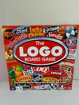 The Logo Board Game Spin Master Games 2010  - $8.25