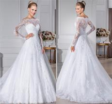 Women New Style Sweetheart A-Line Bridal Wedding Gown image 5