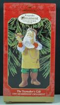Hallmark Ornament TOYMAKER'S GIFT Santa Toy Noah's Ark Membership NIB '99 - $14.95
