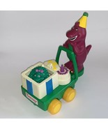 1993 Lyons Group Kids Dimension  Barney & Baby Bop Cart - $14.80