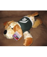 "MSU FLOPPY DOG 2014 Brand New Plush Tags 13"" Plushland MICHIGAN STATE UN... - $9.99"