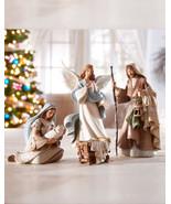 5-figure Bethlehem Nights Nativity set - $99.95