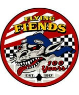 USAF Aardvarks to Eagles Patch Sticker Flying Fiends 100 years - $9.89