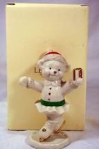 """Lenox Lady Bear On Ice Figurine 4 3/4"""" - $9.00"""