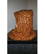 Hooded Neck Warmer Handmade/Gold - $40.00