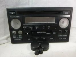 98-02 Honda Accord Odyssey Radio Cd Cass Face Plate 39101-S84-A510 2XA1 DCF33 - $16.63