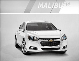 2014 Chevrolet MALIBU sales brochure catalog US 14 Chevy LT LTZ - $6.00