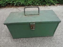 Antique Fishing Tool Box Kit tools  - $120.00