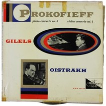 PROKOFIEFF Emil Gilels / David Oistrakh LP 1956 Westminster XWN 18178 Pr... - $18.69