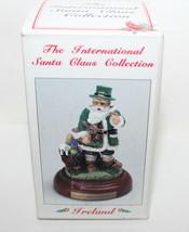 Rare The International Santa Claus Collection Pewter MS16 Irish Father C... - $22.95