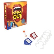 Hasbro Speak Out Mouthpiece Party Game In Stock USA - $19.75
