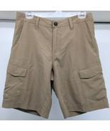 Magellan Outdoors Men's Shorts Size 32 Tan Water Repellent 6 Pockets- Ne... - $21.49
