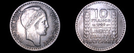 1948 French 10 Franc World Coin -  France - $9.99