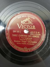 "Boston Pops Orchestra 78 Three Cornered Hat-Dances 10"" Victor 4572 V+/V+ - $13.36"
