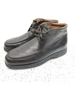 TOD's Mens Brown Leather Desert Ankle Boots Size 9.5 US (8.5 UK) Italy M... - $148.49