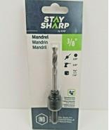 "3/8"" Hex Shank Mandrel 1054202 Stay Sharp by EAB Professional  - $14.99"