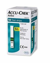 Accu-Chek Active Test Strip  (50 Test Strips) - $28.04