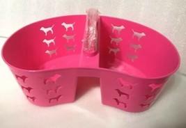Victoria Geheim Pink Duschablage Hund Logo Schlafraum Tragetasche Plastik image 2