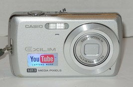 "Casio EXILIM ZOOM EX-Z35 12.1MP Digital Camera - Silver 3x Optical 2.6"" LCD - $70.13"