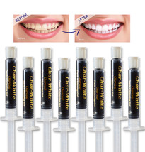 Natural Teeth Whitening Activated Charcoal Gel - Mint Flavor - Fresh Teeth White - $15.45