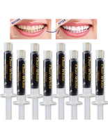 Natural Teeth Whitening Activated Charcoal Gel - Mint Flavor - Fresh Tee... - $10.99