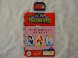 LeapFrog LeapPad LeapStart Pre-Reading Disney Princess Stories EUC - $7.66