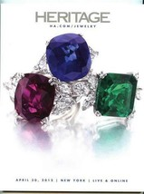 Heritage Auctions Catalog Fine Jewelry April 2012 New York  - $37.62