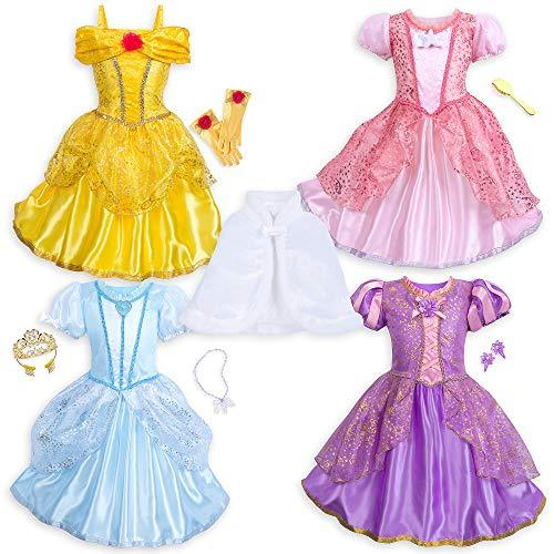 Disney Princess 10-Piece Wardrobe Set Size 4 Multi