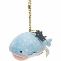 Jinbe san Mouth Open Plush Doll Stuffed Chain Jinbei San-X Japan Free Sh... - $28.04