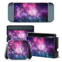 Nintendo Switch Galaxy Console & Joy-Con Controller Decal Vinyl Art Skin Sticker - $13.83