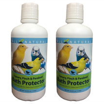 2 Pack 33.9 oz Care Free Enzymes Canary, Finch & Parakeet Bath Protector... - $31.84