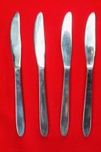 """4X Dinner Table Knives Englishtown ENS2 Stainless Glossy Flatware 8 1/4""""... - $27.72"""