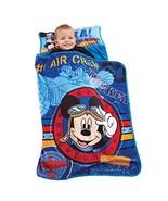 Disney Mickey's Toddler Rolled Nap Mat, Flight Academy - $36.49