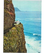 Portugal Postcard Madeira S Vicente Porto do Moniz Street Between Two Vi... - $2.12