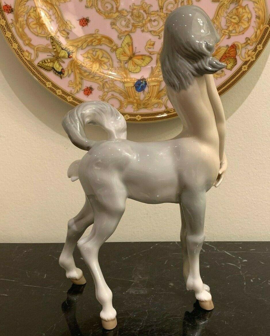 Vintage Lladro Daisa Centaur Girl Figurine Designed by Fulgencio Garcia