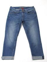 Arizona Jean Co Womens Capri Jeans Size 9 Cropped Blue Denim - $20.57