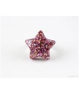 Resin Star Ring, Kawaii Jewelry, Harajuku Fashion, Adjustable, Handmade,... - $8.00