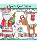 Father Christmas Clip Art - $1.35