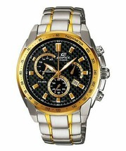 Casio Edifice Analog Multi-Color Dial Chronograph Men's Watch EF-521SG-1... - $158.40