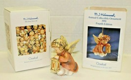 Vintage 1991 M.J. Hummel Annual Collectible Ornament Angelic Guide #202 ... - $41.58