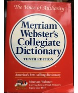Merriam-Webster's Collegiate Dictionary ~ Tenth Edition ~ Thumb-Indexed - $8.99