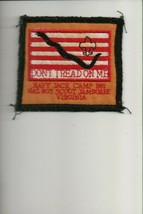 1981 National Jamboree Navy Jack Camp Don't Tread On Me patch - $5.94