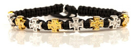My Saint My Hero Faith Blessing Bracelet - Silver-Plated and Gold-Plated... - $96.79