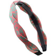 Fashion Headband Toothed Antiskid Hair Hoop Hair Accessories(Pink Printing)
