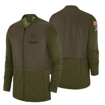 Nike Men's Kansas City Chiefs Salute to Service Hybrid 2018 Jacket Mediu... - $98.99
