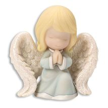 Precious Moments Mini Figurine - Praying Angel - $15.99